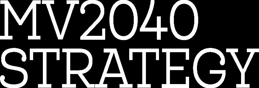 MV2040 Strategy